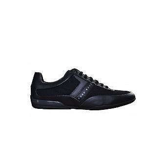Hugo Boss Footwear Hugo Boss Green Men's Black Space Lowp Syme Trainers