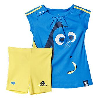 Adidas Infants Dory Summer Short And Tshirt Set