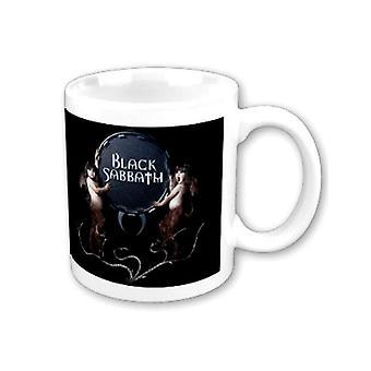Black Sabbath Mug Devil Twins band logotyp ny officiell vit boxed