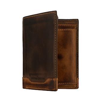 bolsa da carteira da bolsa dos homens de Bruno Banani marrom/conhaque 8175