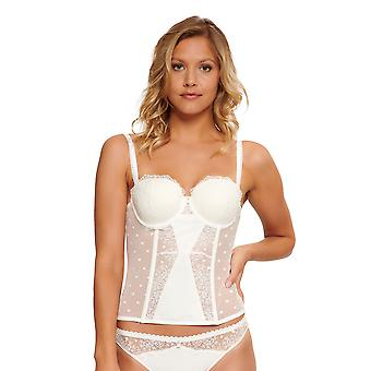 LingaDore 5028G-252 Women's Labrya Off White Lace Underwired Basque