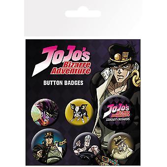 Jojo ' s bizarr kaland karakterek BADGE Pack