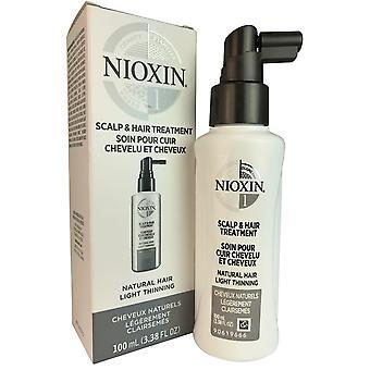 Nioxin järjestelmä #1 päänahan hoito 3,4 oz