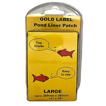 Gold Label Pond Liner Repair Patch - Large