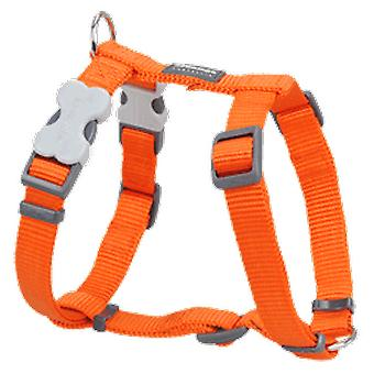 Red Dingo Harness One Touch Smooth Orange