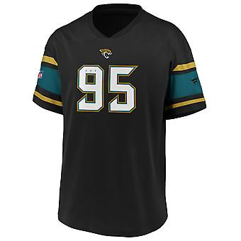 Iconic Poly Mesh Supporters Jersey - Jacksonville Jaguars