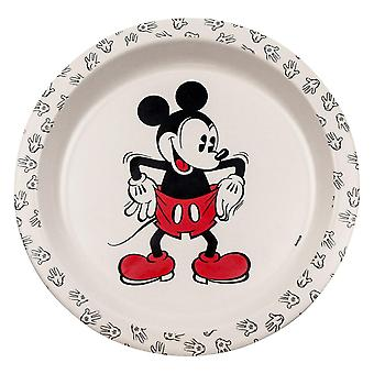Disney, Plate of Bamboo - Mickey Mouse