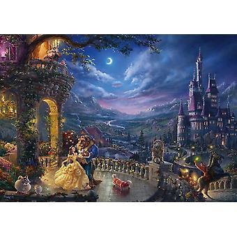 Kinkade Schmidt: Disney la bellezza & la bestia Jigsaw Puzzle (1000 pezzi)