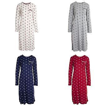 Inspirations Womens/Ladies Long Sleeve Daisy Nightie