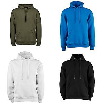 Tee Jays Mens Hooded Cotton Blend Sweatshirt