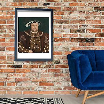 Hans The Younger - King Henry VIII Poster Print Giclee