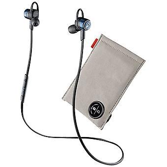 プラントロニクス耐湿性ブルートゥースイヤホン充電ケース付き - コバルトブルー