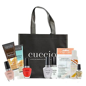 Cuccio Essential Manicure At Home Kit - Milk & Honey - 9 Piece Starter Kit
