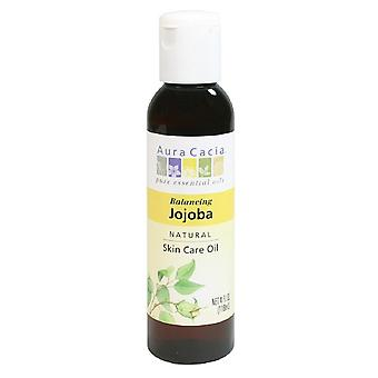 Aura cacia natural skin care oil, balancing jojoba, 4 oz