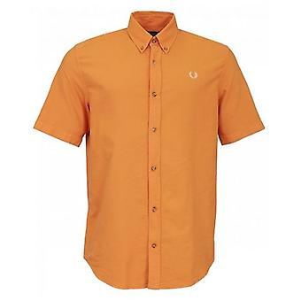 Fred Perry Authentics Over Dyed Oxford Shirt