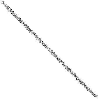 سلسلة الكاحل 925 الاسترليني الفضة الروديوم مطلي 26 سم الكارابينر