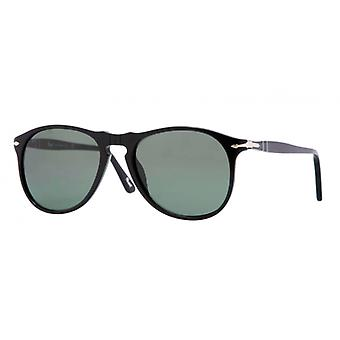 Persol PO9649S 95/31 Black/Crystal Green Sunglasses