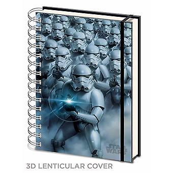 Star Wars Stormtrooper 3D Kansi A5 Notebook