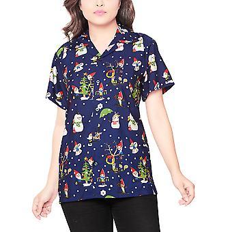 Club cubana women's regular fit classic short sleeve casual blouse shirt ccwx14