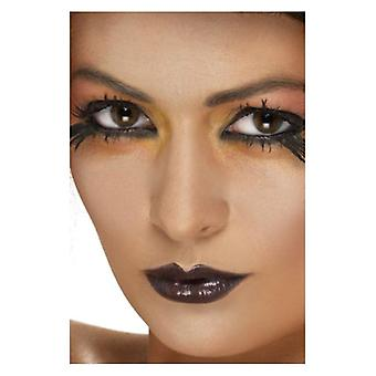Leppestift, svart Fancy kjole tilbehør