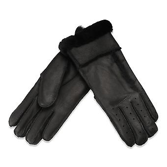 Nordvek Womens Leather Gloves - Sheepskin Lining - Perfect For Driving # 330-100
