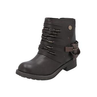 Coolway BARU Women's Boots Brown Lace-Up Boots Winter