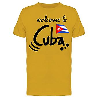 Welcome To Cuba Tee Men's -Image by Shutterstock
