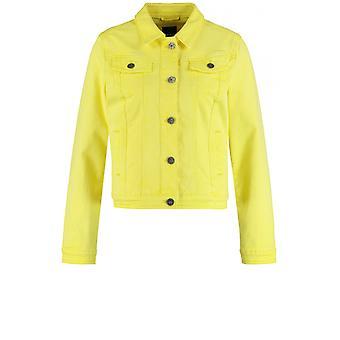 Taifun Vibrant Yellow Denim Jacket