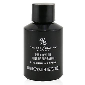 Pre Shave Oil - Olibanum + Pepper - 60ml/2oz