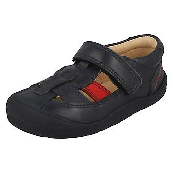 Boys Startrite Cut Out Detail Summer Shoes Bumble