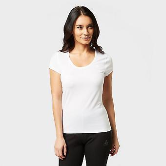 Nouveau Odlo Women's Active Light Short Sleeve Baselayer Top White