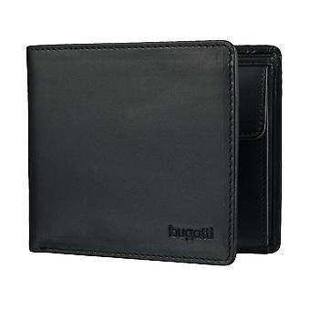 Bugatti Primo mens plånbok plånbok väska svart 4128