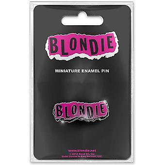 Blondie Punk band Logo new Official metal lapel mini Pin Badge