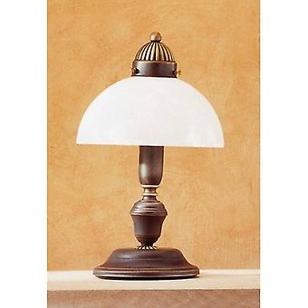 Nonna Cozy Antique Brass Table Lamp 1 Bulb