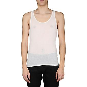 Saint Laurent 507951yb2oz9502 Män's Beige Modal T-shirt