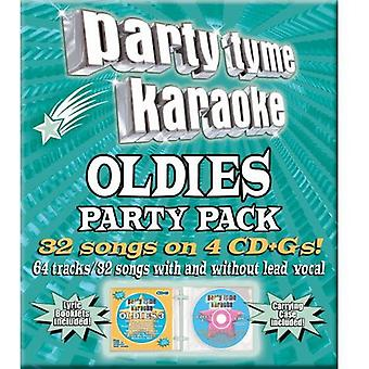 Party Tyme Karaoke - Oldies Party Pack [CD] USA import