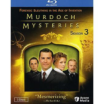 Murdoch Mysteries: Season 3 [BLU-RAY] USA import