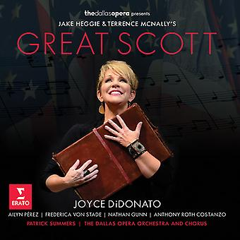 Didonato*Joyce - Heggie/McNally: Great Scott [CD] USA import
