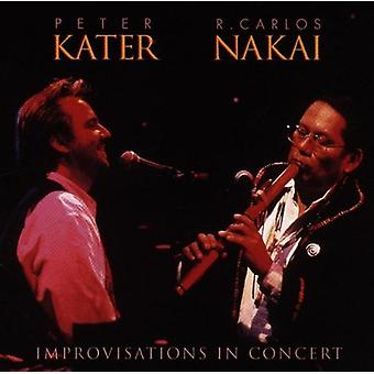 Kater/Nakai - Improvisations in Concert [CD] USA import