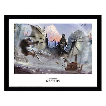 Skyrim, Painting - Alduin