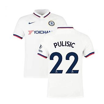2019-2020 Chelsea Away Nike Football Shirt (Kids) (Pulisic 22)