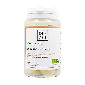 Organic Acerola 30 chewable tablets