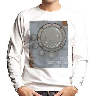 The Crystal Maze Lighter Good Feeling Rust Panel Men's Sweatshirt
