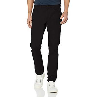 Goodthreads Men's Skinny-Fit 5-Pocket Chino, Black 33W x 30L