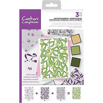 Crafter's Companion Mistletoe Moments Background Layering Timbres