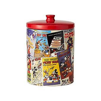 Mickey Mouse Classic Film Posters Collage Cookie Jar