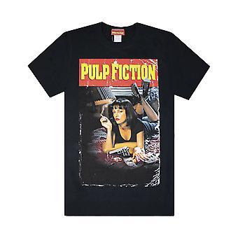 Pulp Fiction Movie Poster Men-apos;s T-Shirt Pulp Fiction Movie Poster Men-apos;s T-Shirt Pulp Fiction Movie Poster Men-apos;s T-Shirt Pulp Fiction