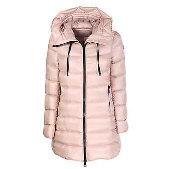 Moncler 1b2000053052511 Women's Pink Nylon Down Jacket