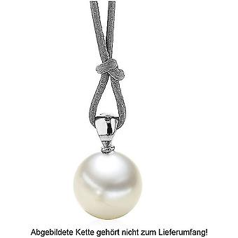 """Luna-Pearls - Hanger - White Gold 750/- Zoetwater-ZP """"Ming"""" 12-13 mm 2040433"""