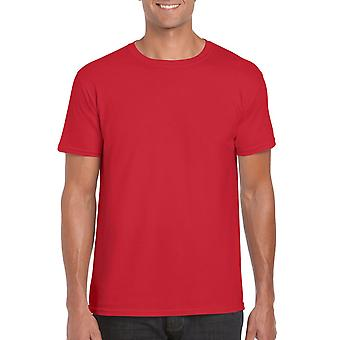 GILDAN G64000 Softstyle Men's T-Shirt in Red